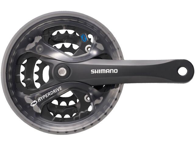 Shimano Acera FC-M361 Pédalier 48/38/28, black